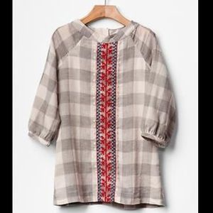 Baby Gap tunic with embroidery
